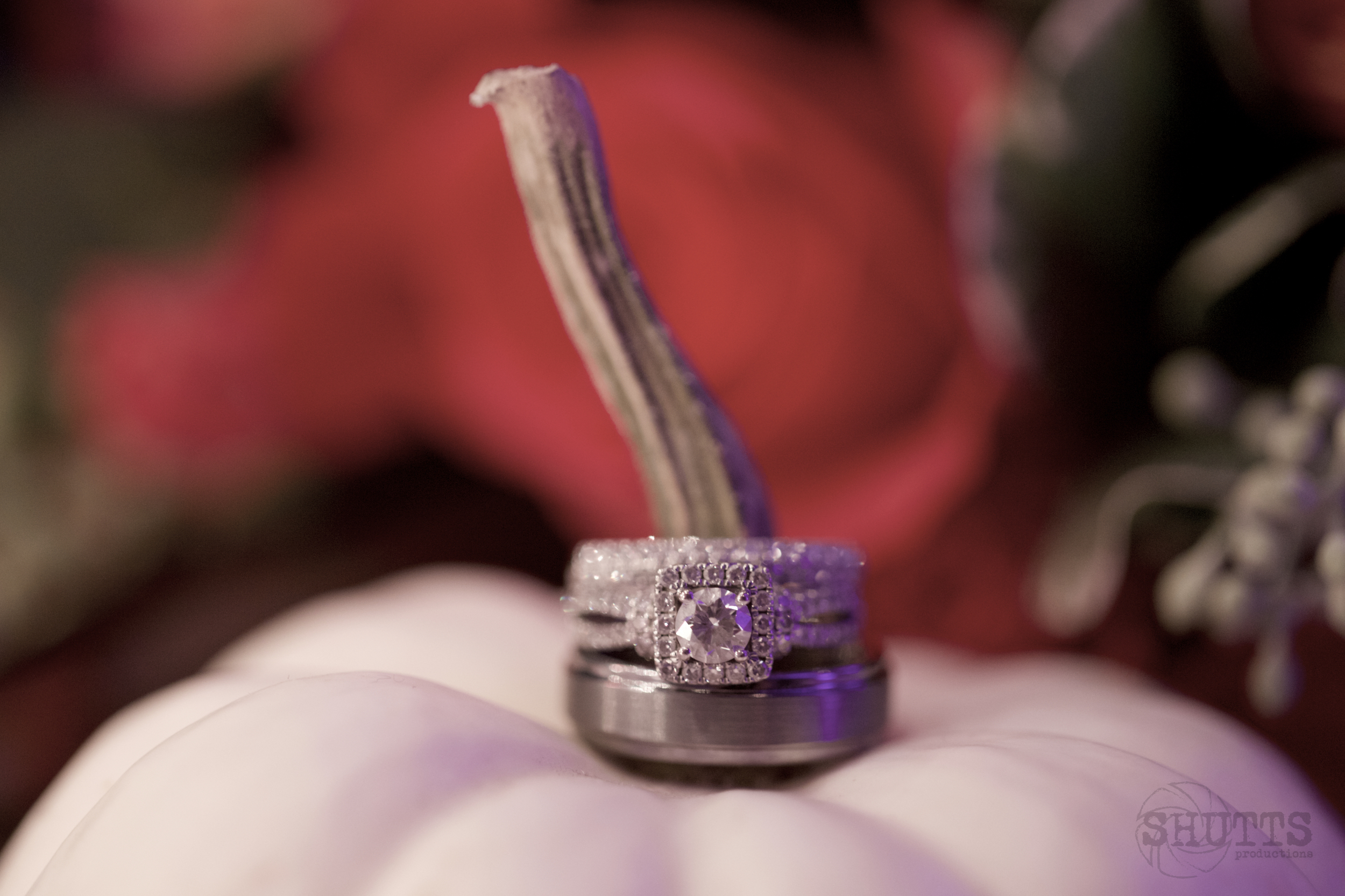 This ring has all the bling.