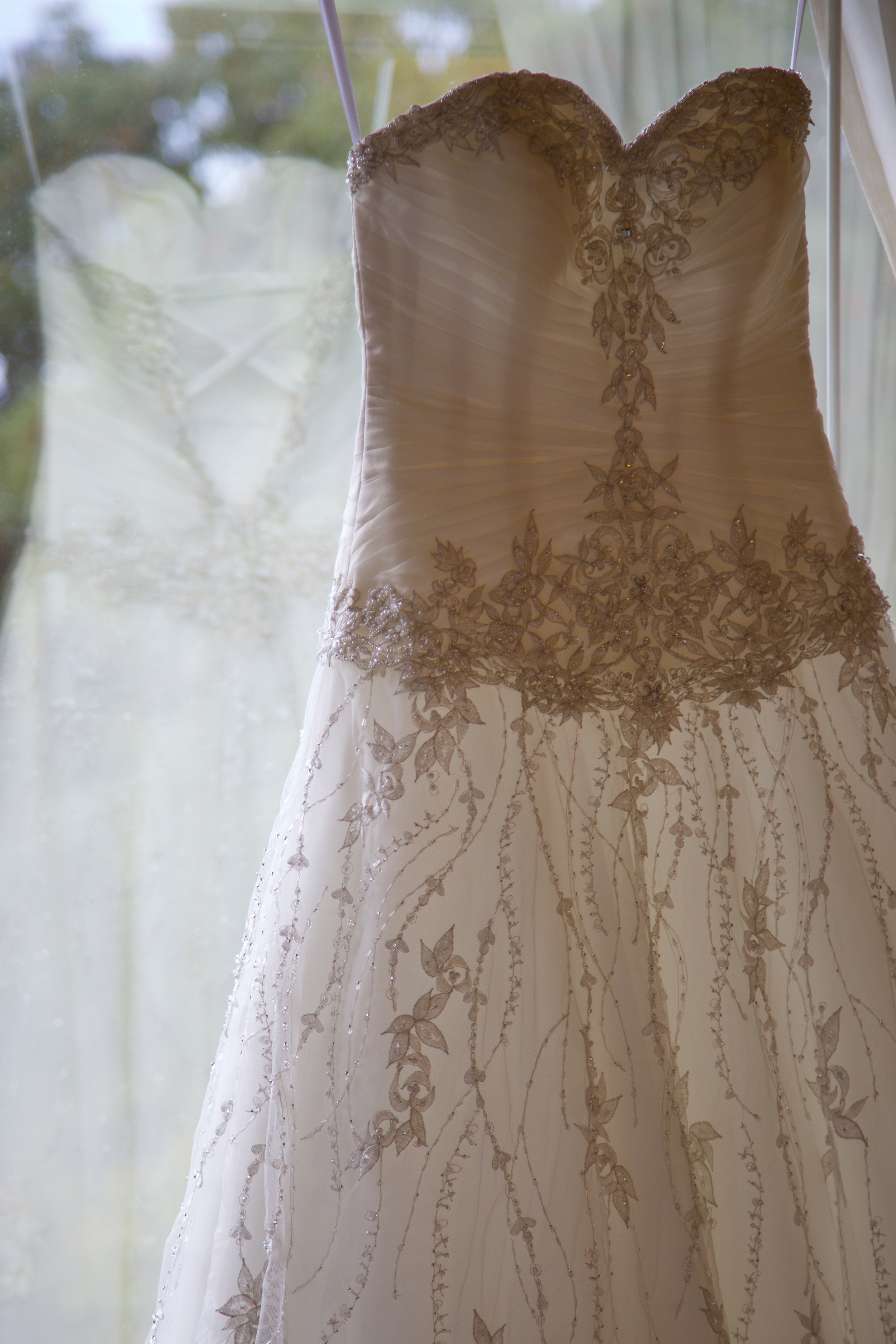the bead work in this dress was amazing!
