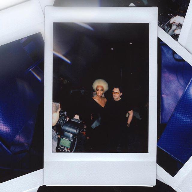 A second with #Solange 💜 @stuartweitzman