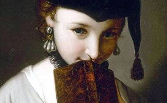 Girl with a Book, Pietro Antonio Rotari 2.JPG