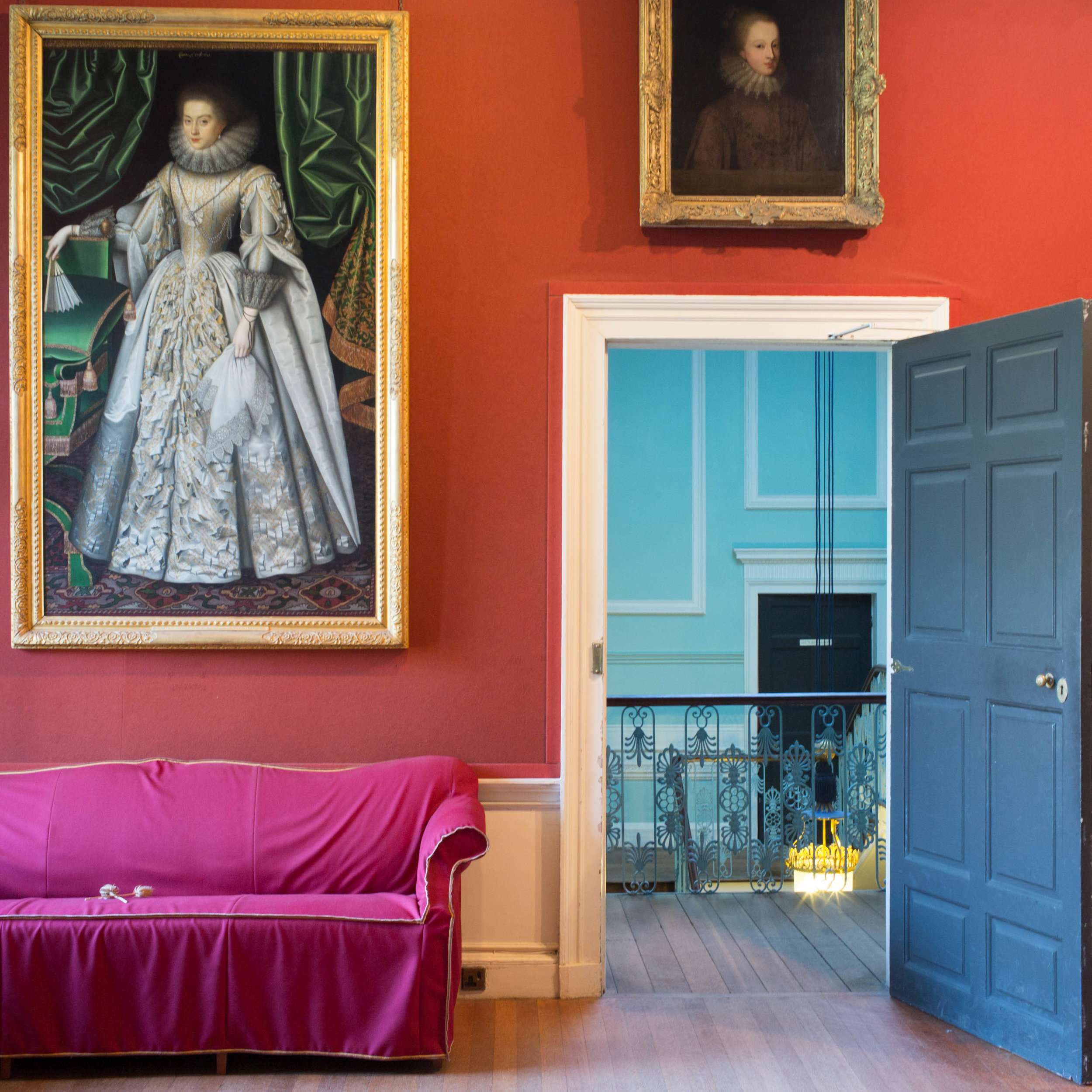 "Pink Sofa, 2016, archival inkjet print, 13.5"" x 13.5"" unframed"