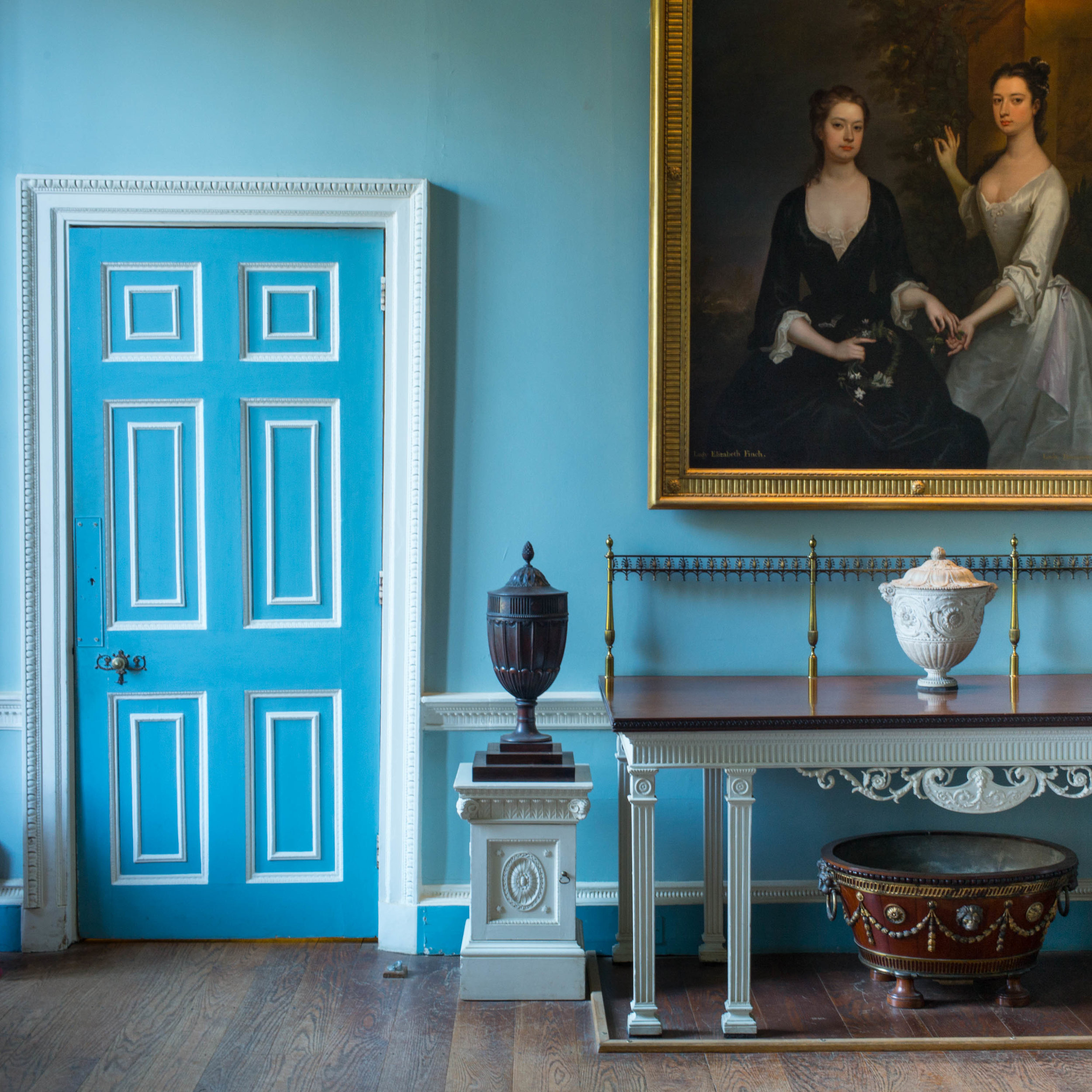 "Kenwood House Blue, 2016, archival inkjet print, 13.5"" x 13.5"" unframed"
