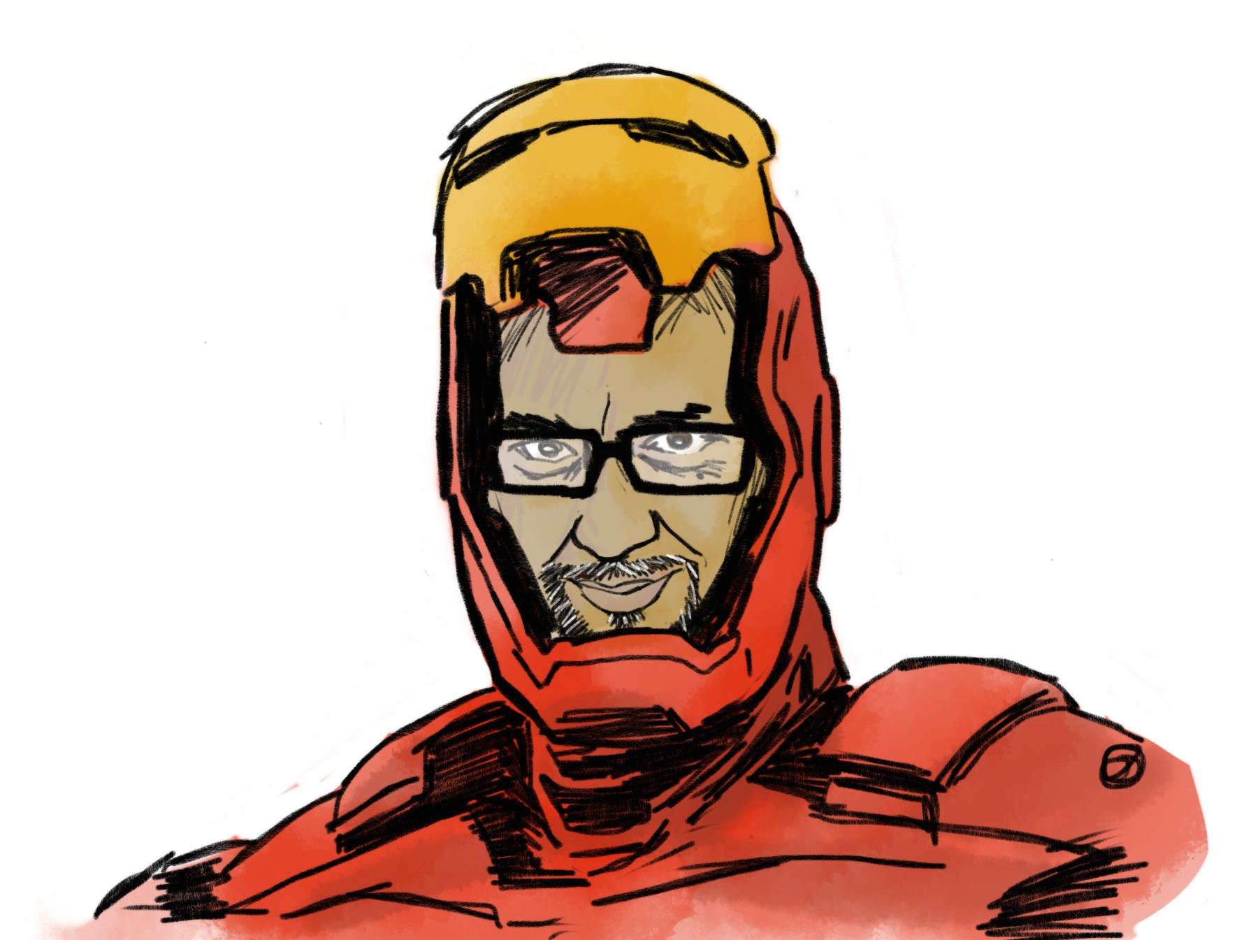 Peter Sham as Iron Man