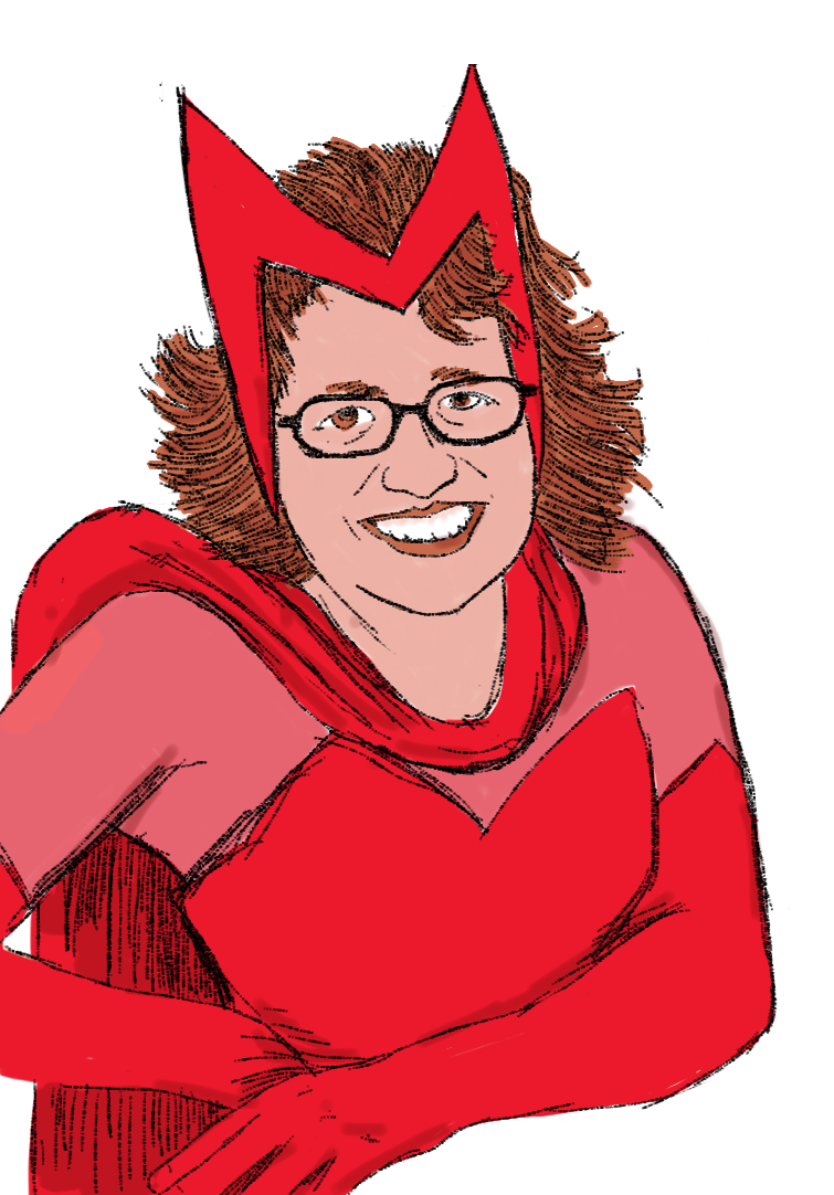 Charla Strosser as The Scarlet Witch