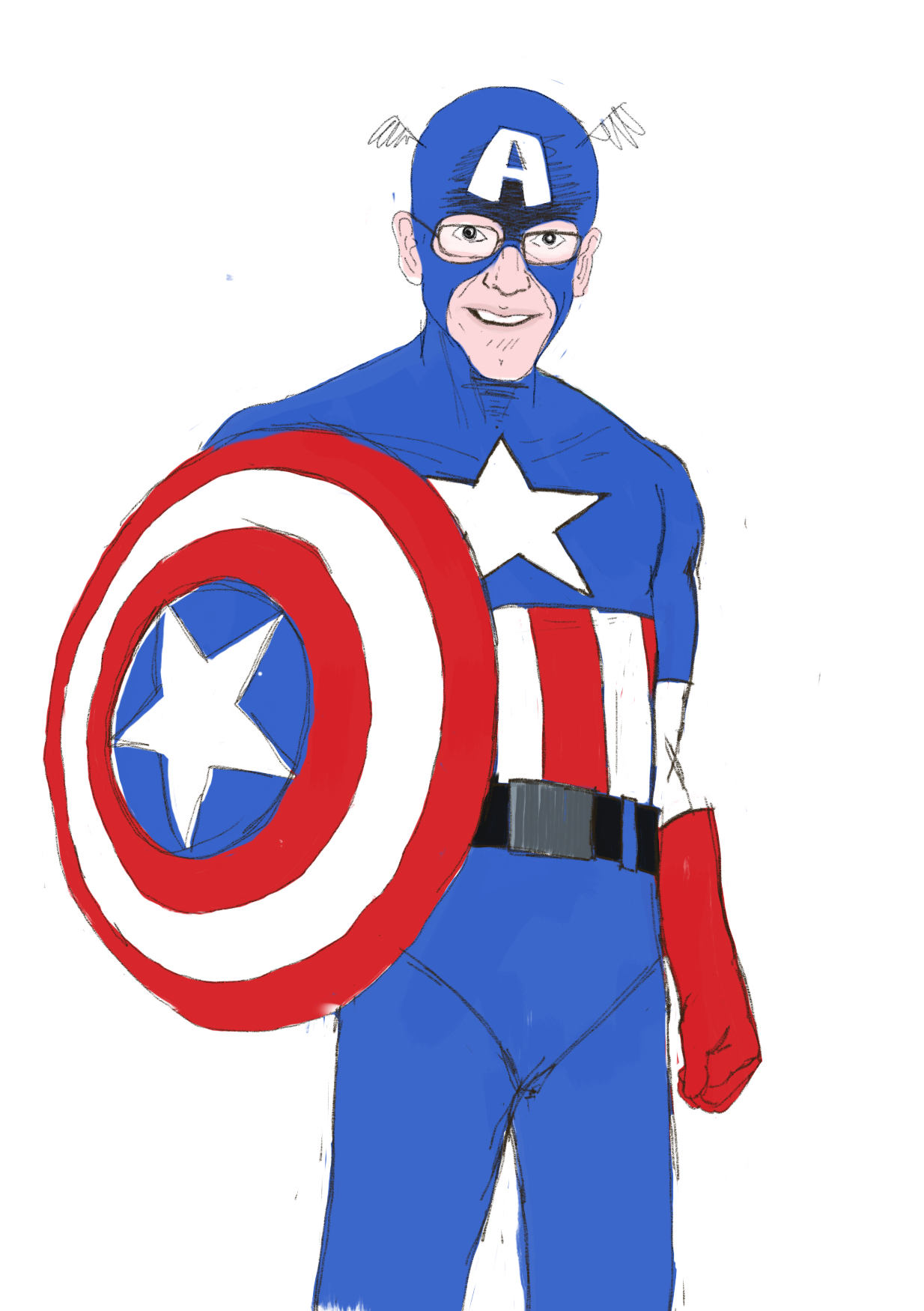 Scott Wyatt as Captain America