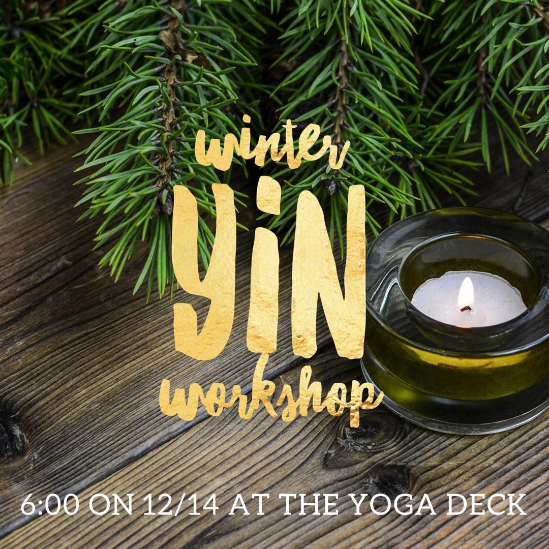 Winter Yin Workshop