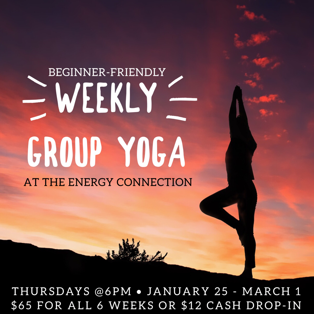 Group Yoga at The Energy Connection