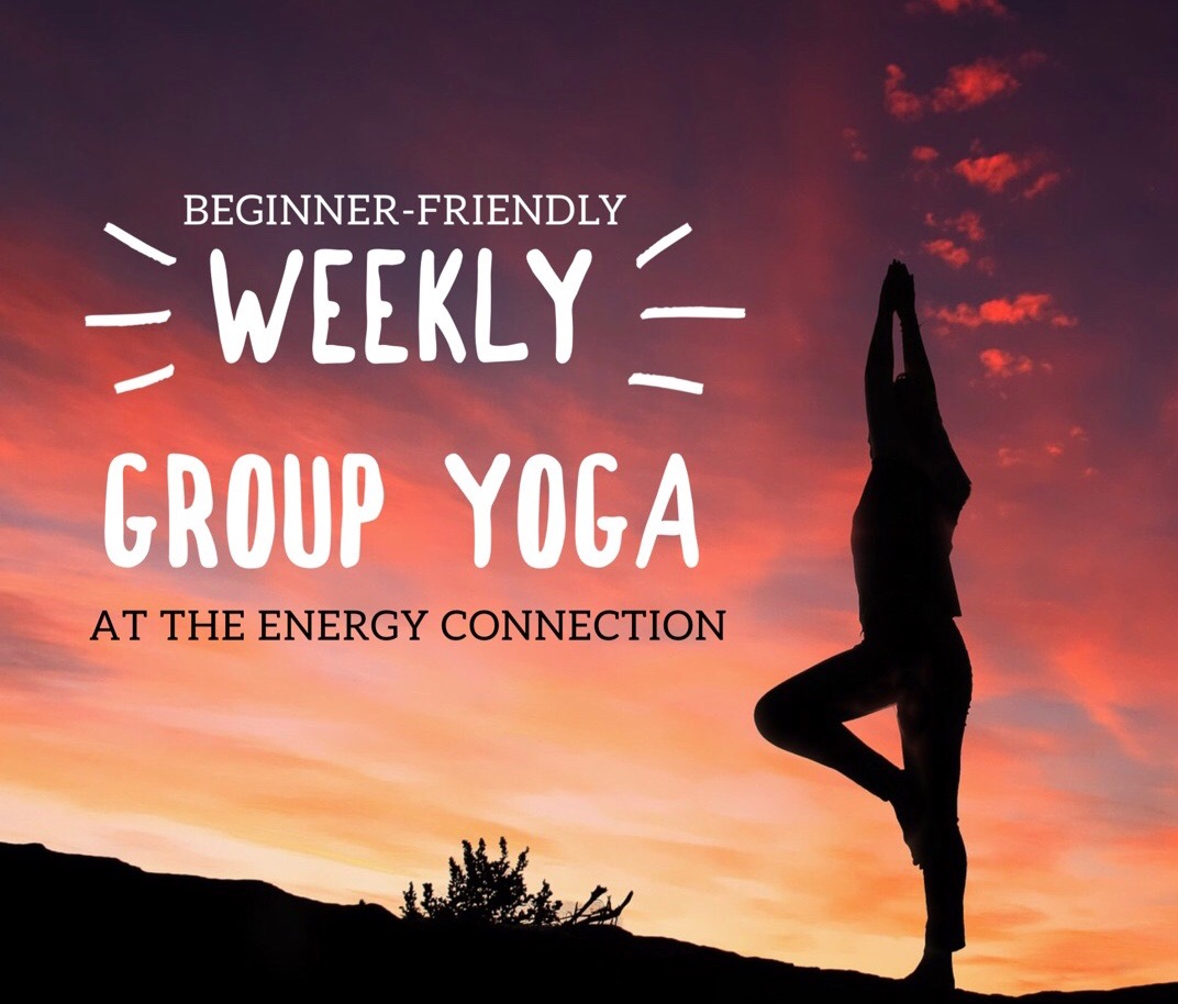 Beginners Group Yoga at The Energy Connection in Irwin
