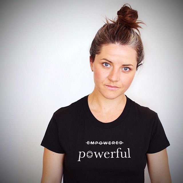 We. Are. Power. In. Human. Form. ⠀⠀ You asked, @corawomen answered. The Powerful Tee is back—now available: ⠀⠀ https://cora.life/pages/powerful-tee