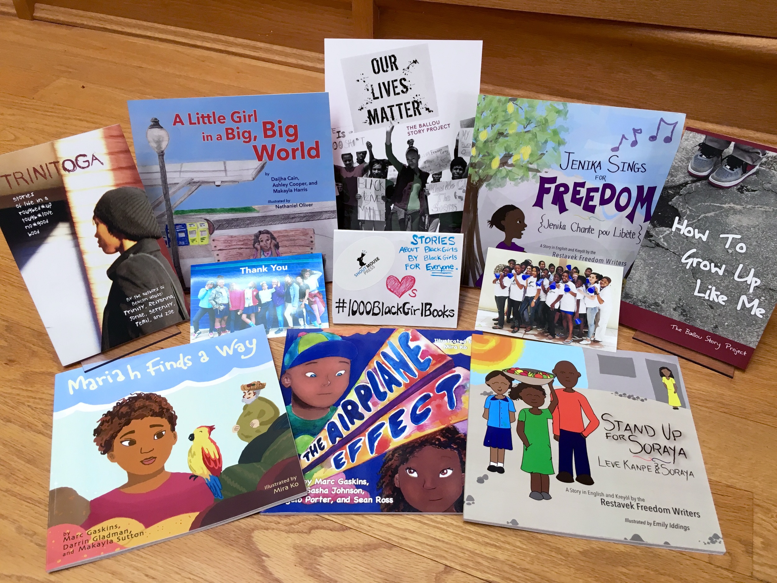All these black girl books were written by black girl authors