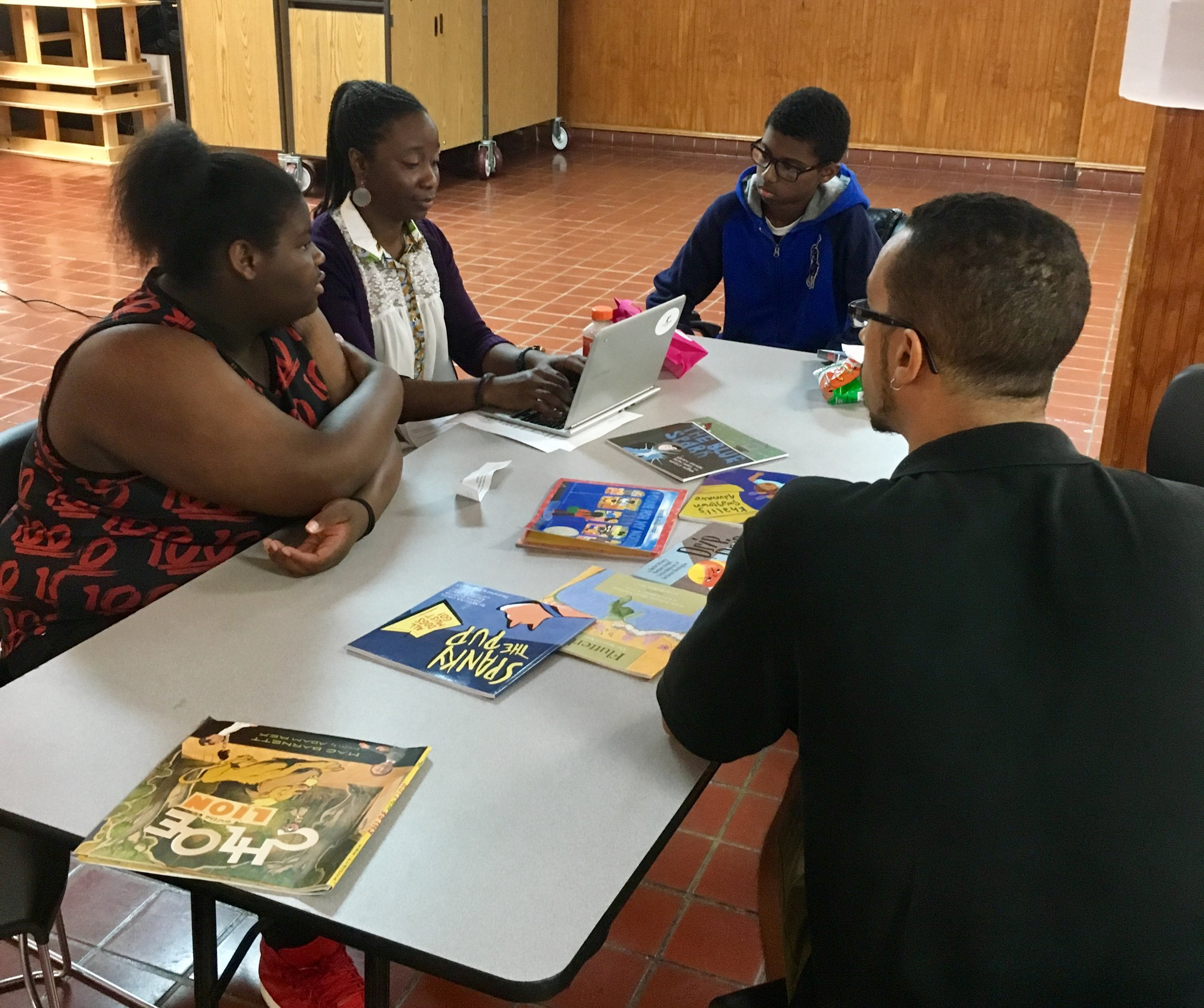 Reach teen authors in the brainstorming phase of their children's book.