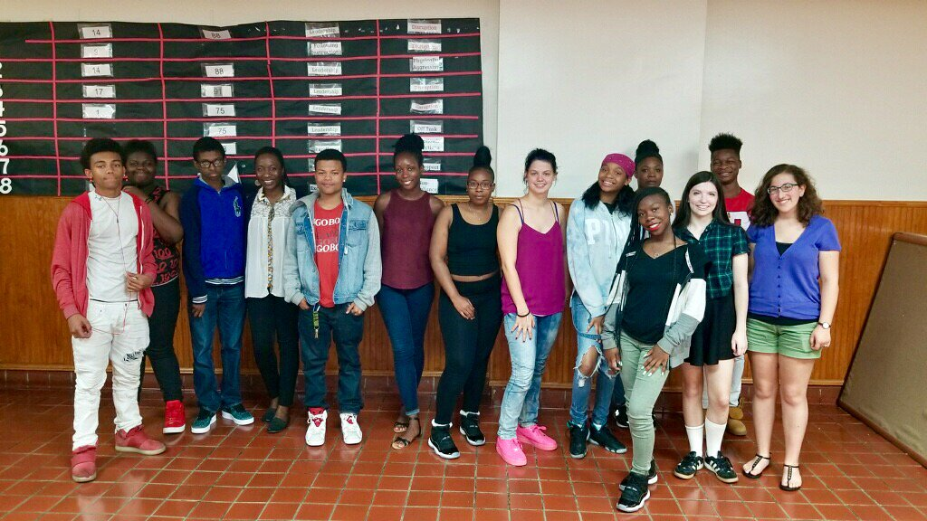 Reach Incorporated writers at the end of their first week of writing.