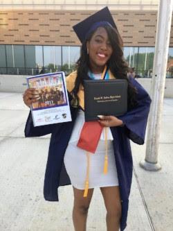 Diane Yomkil is a 2017 Ballou High graduate.