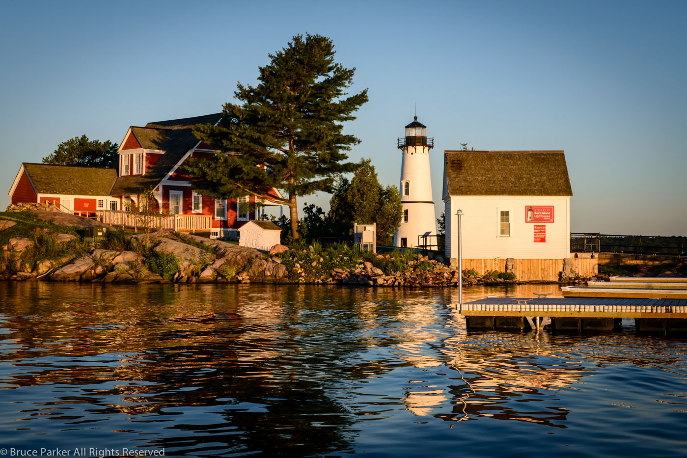Early Morning Rock Island