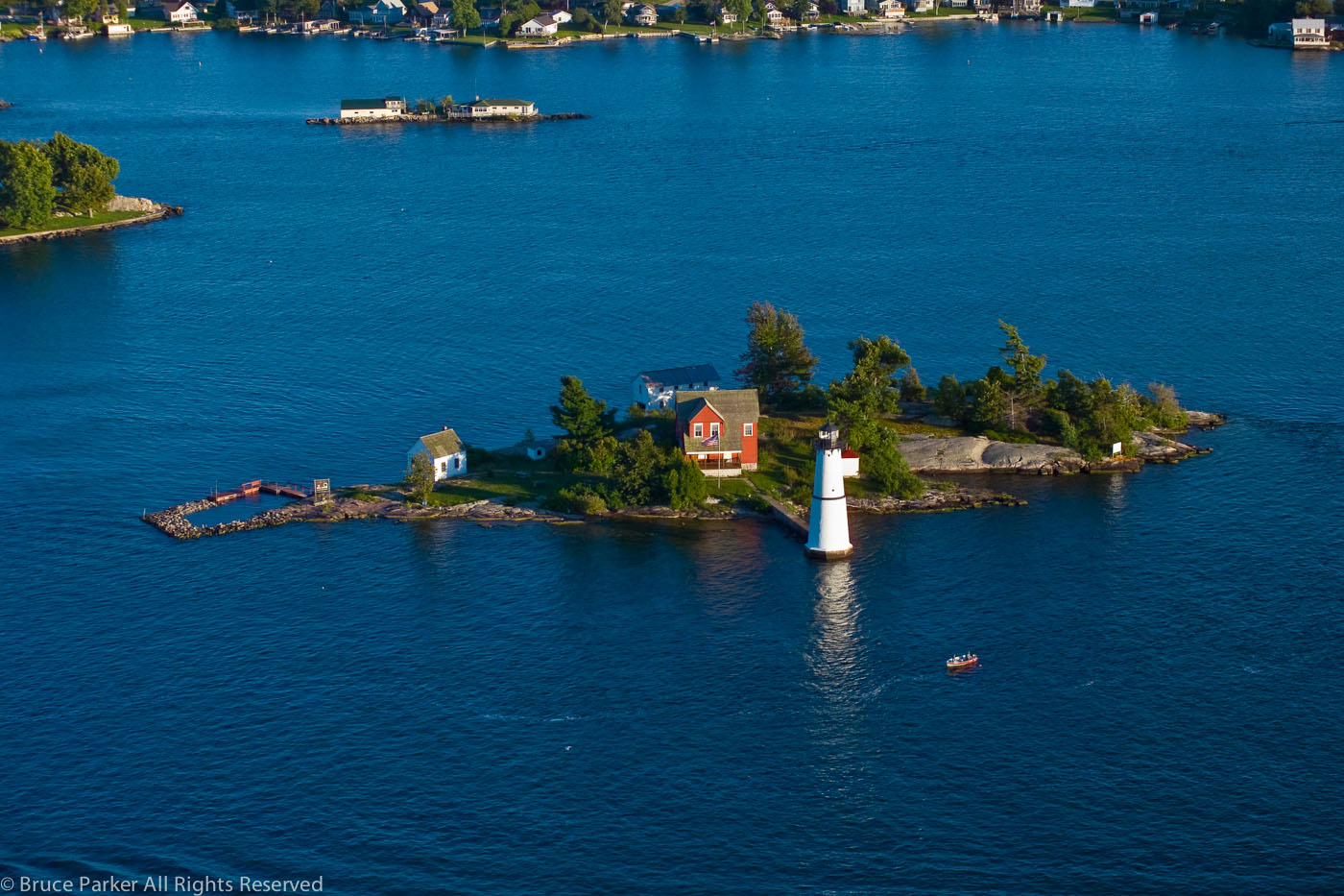 Rock Island Lighthouse, 2004
