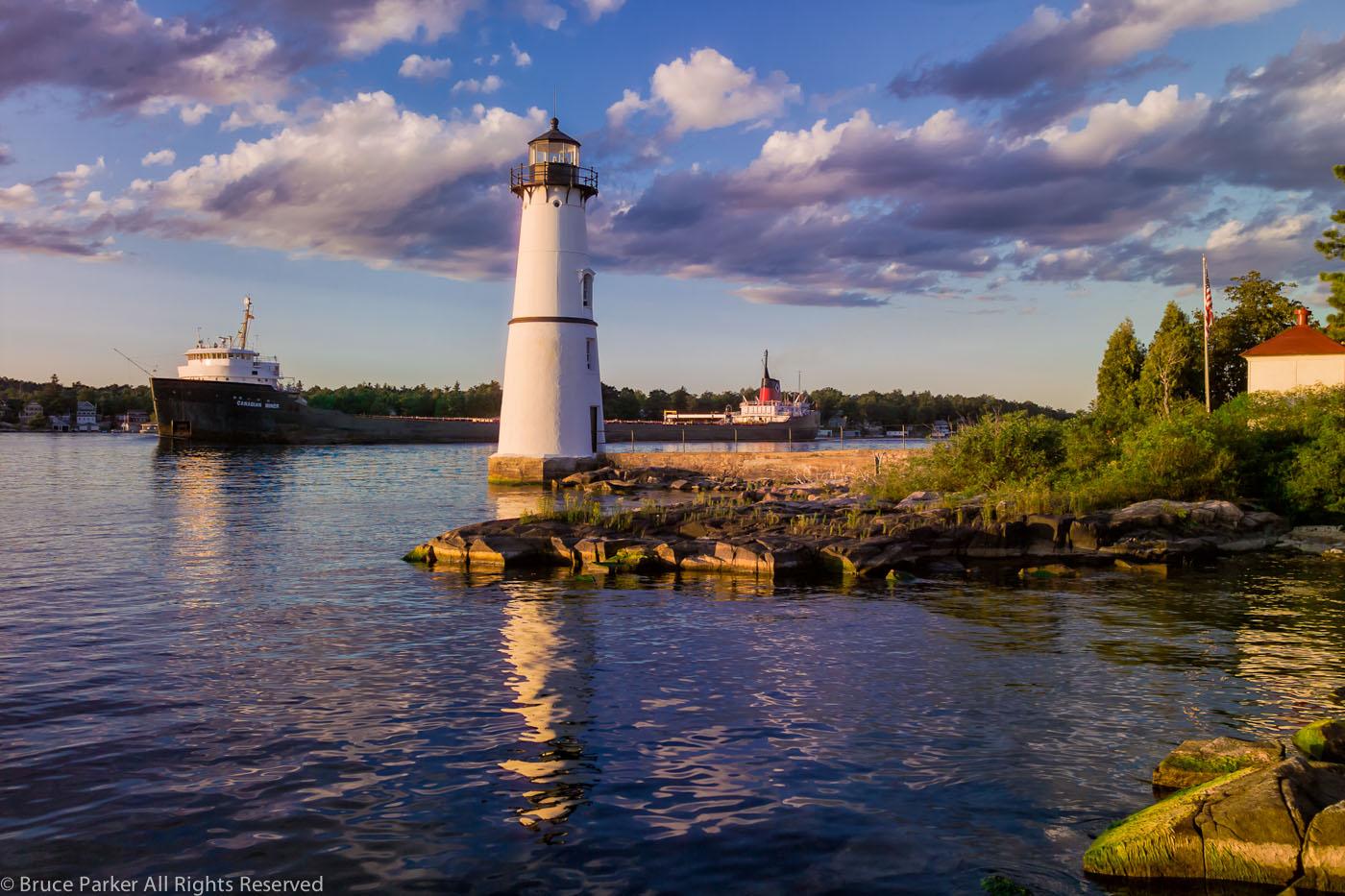 Rock Island Lighthouse, 2005