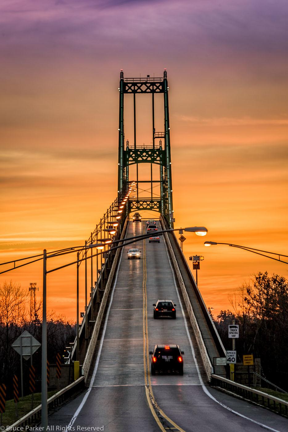 1000 Island Bridge Sun-up