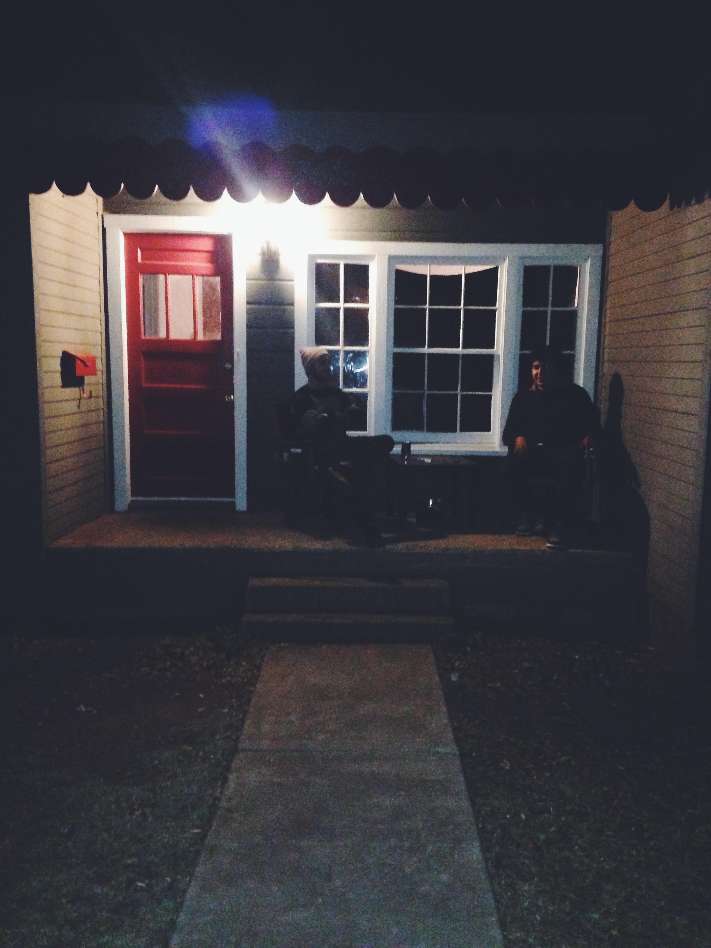 Logan's new house in Lubbock, Texas.