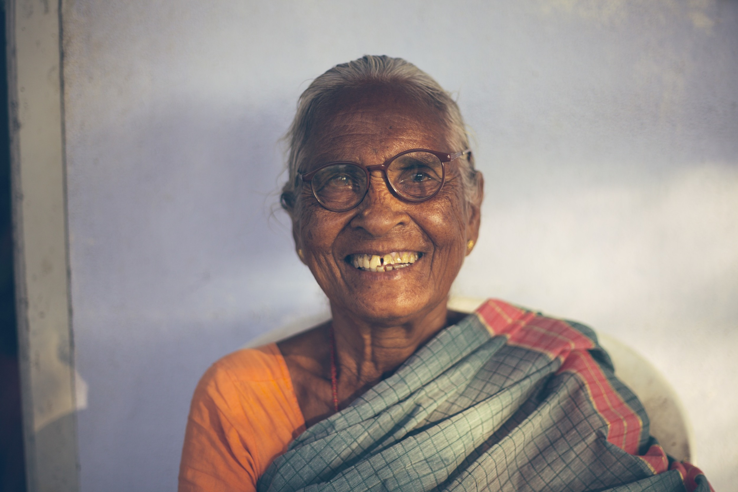 Krupa Home for the Aged offers community and provision to about 32 women who have been abandoned or disowned by their families.