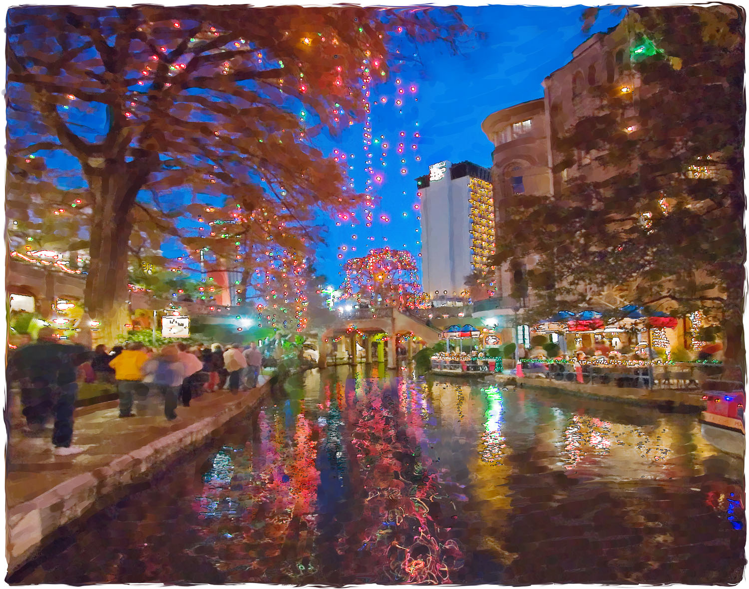 Riverwalk Holiday