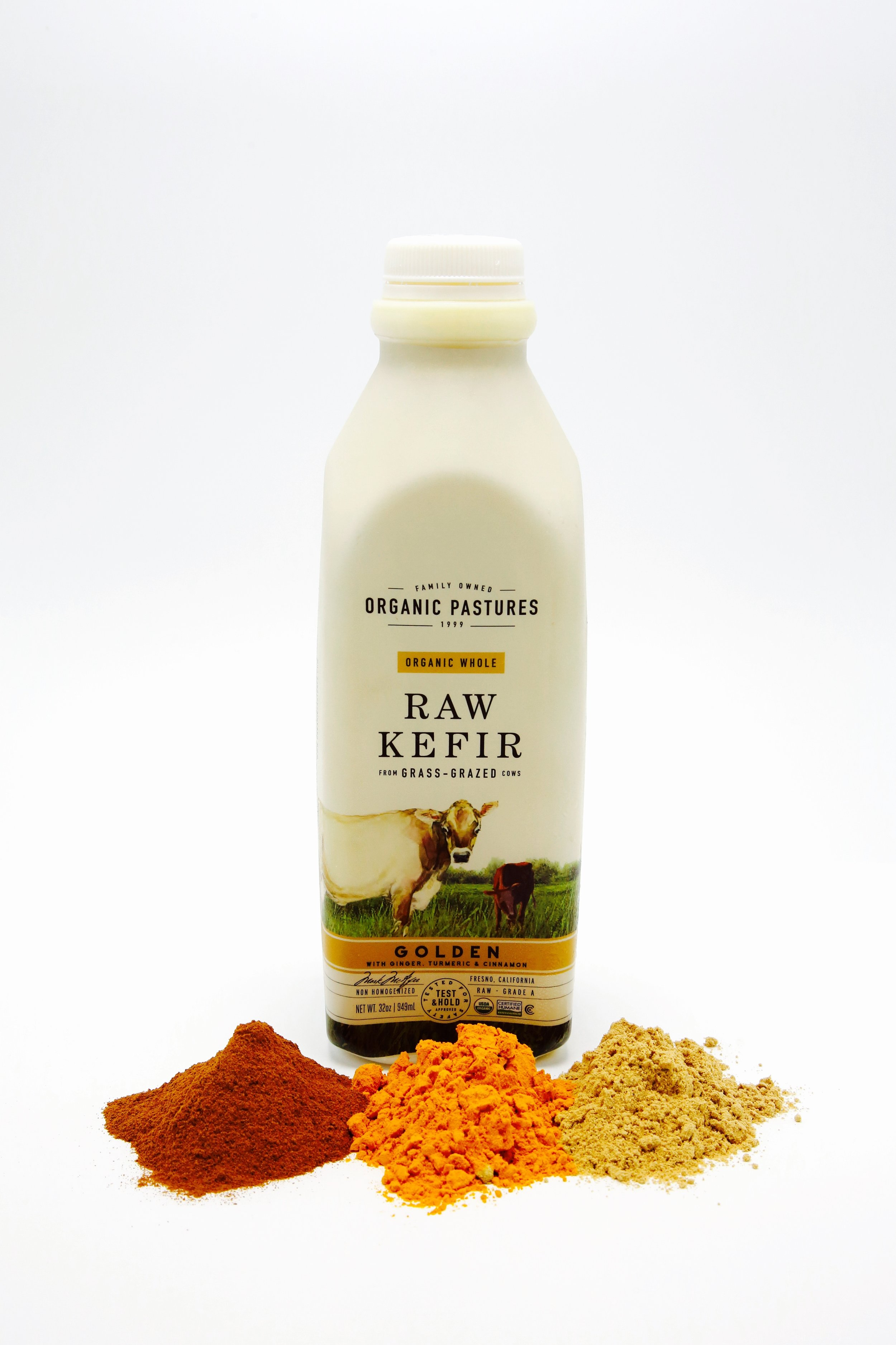 Organic Pastures GOLDEN Raw Kefir