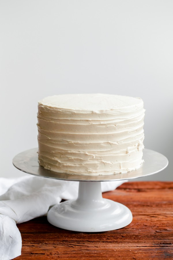 Raw Buttercream Cake