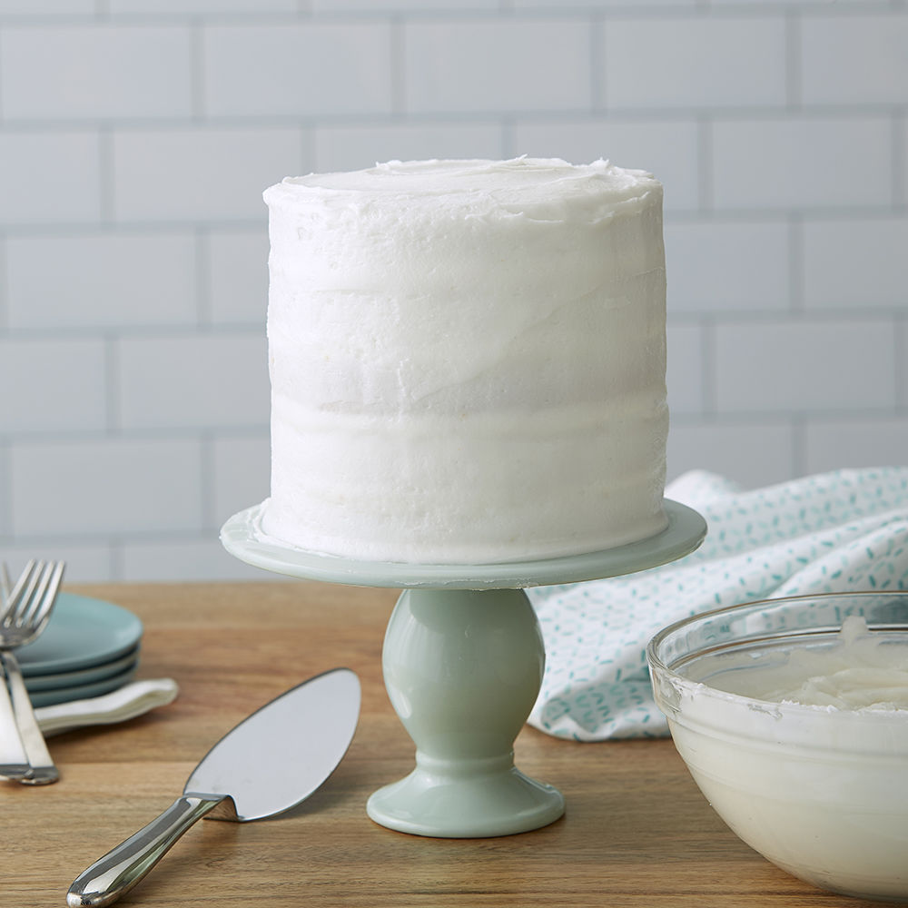 Raw Buttercream Frosting