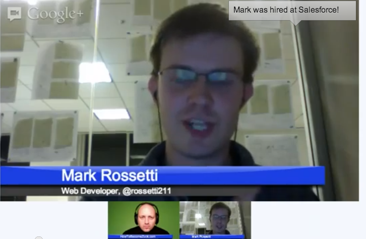 Hack Reactor's Mark Rossetti is now a web developer at SalesForce.