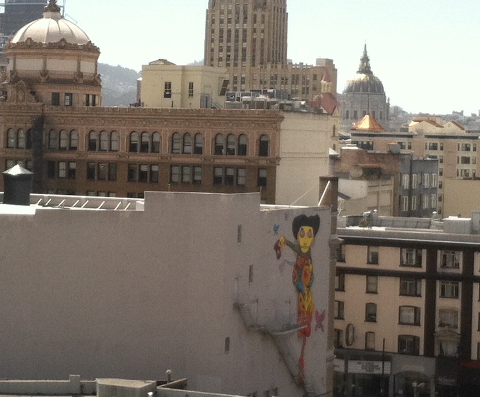 The view from Hack Reactor's classroom window.