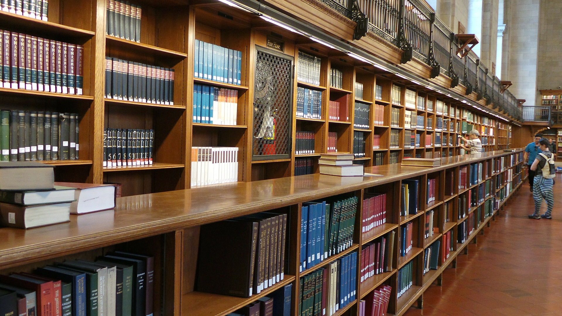 Library at NYU  Photo courtesy of Pixabay.