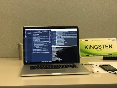 Kingsten's workstation