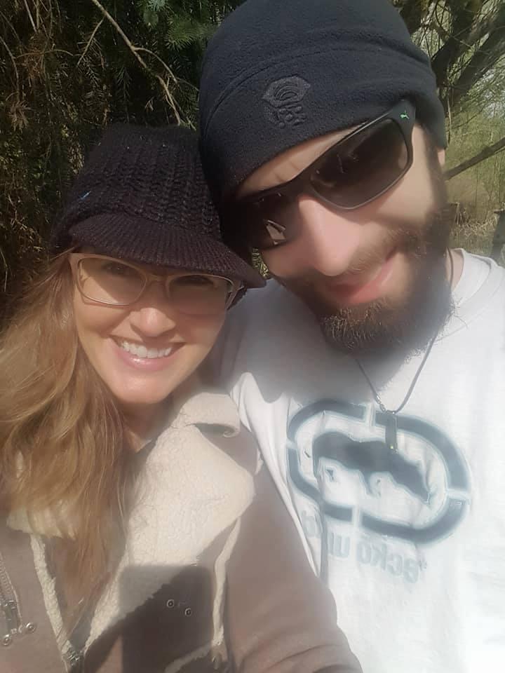 Tré and his fiancé
