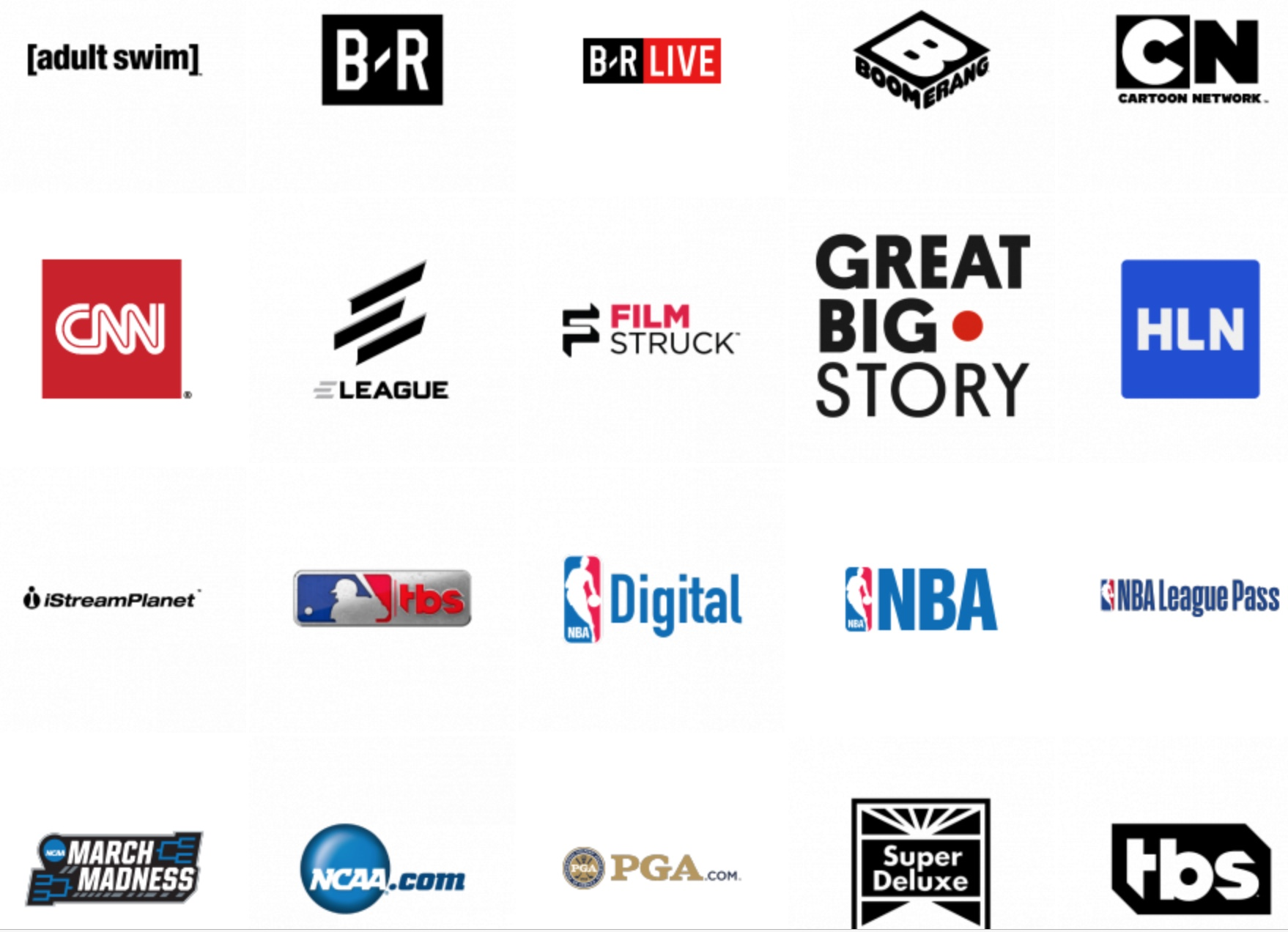 Some of the brands under Turner