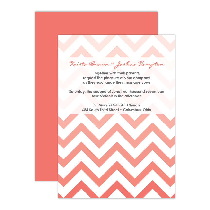 Admire Wedding Invitation
