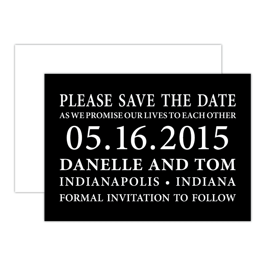 Seventh Save the Date