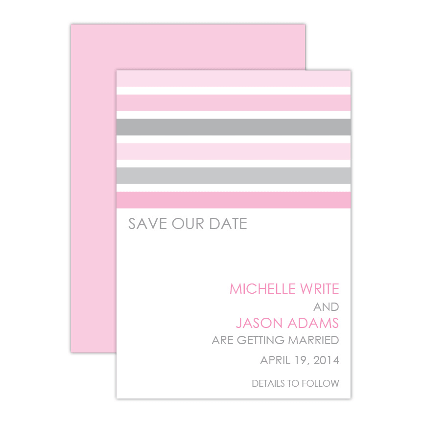 Sweet & Pretty Save the Date