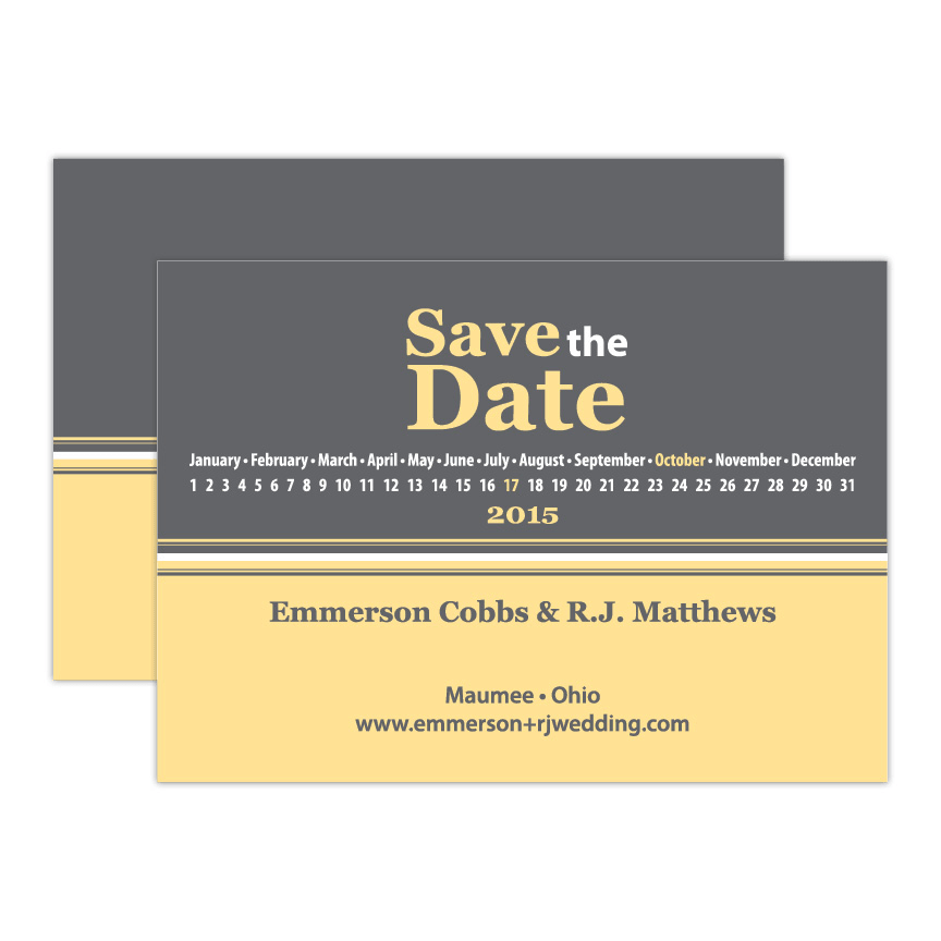 Thomas Save the Date