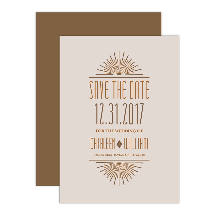 Deco Save the Date