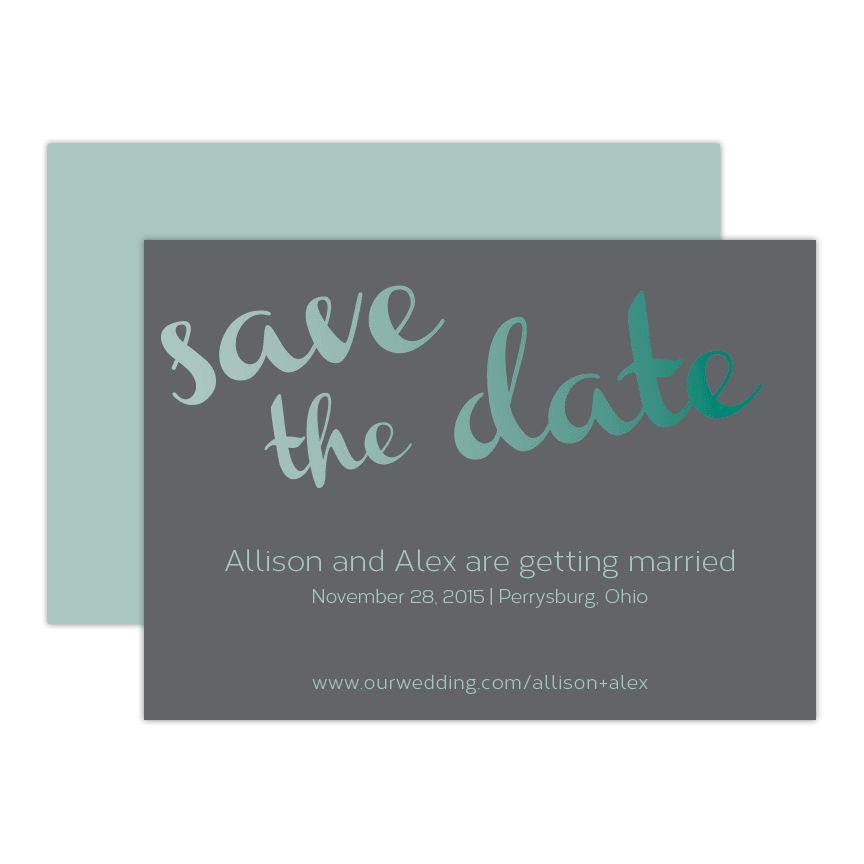 Infinity Save the Date