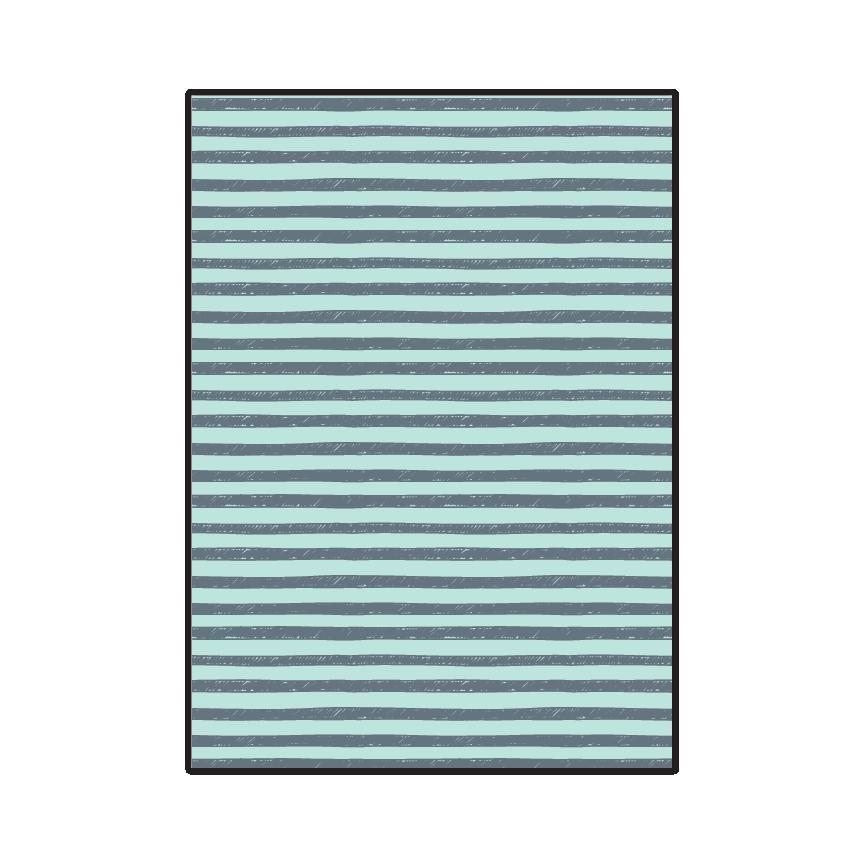 Distressed Stripes