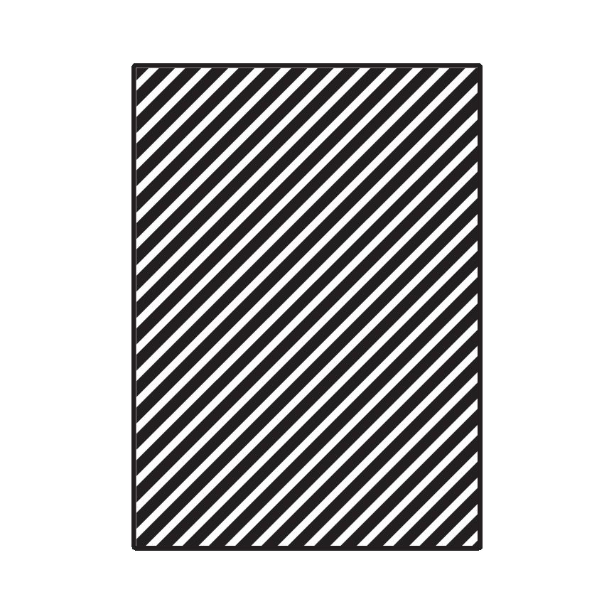 Thin Diagonal Stripes