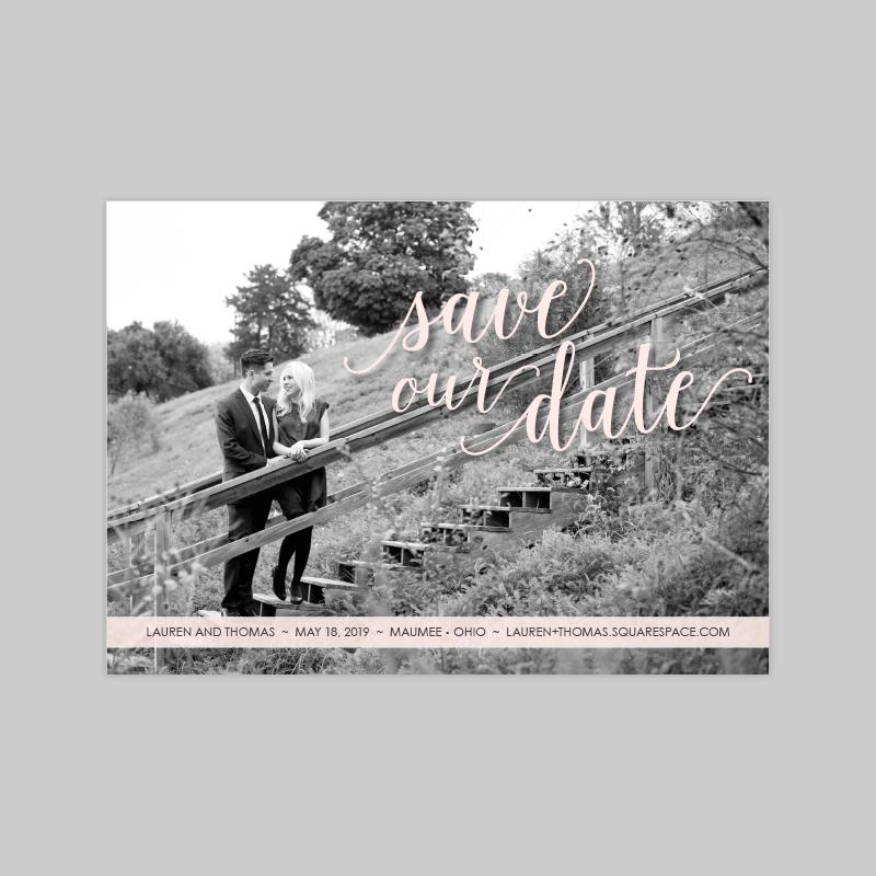 Cherish Save the Date
