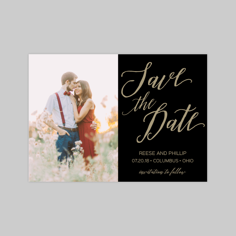 Reese Save the Date