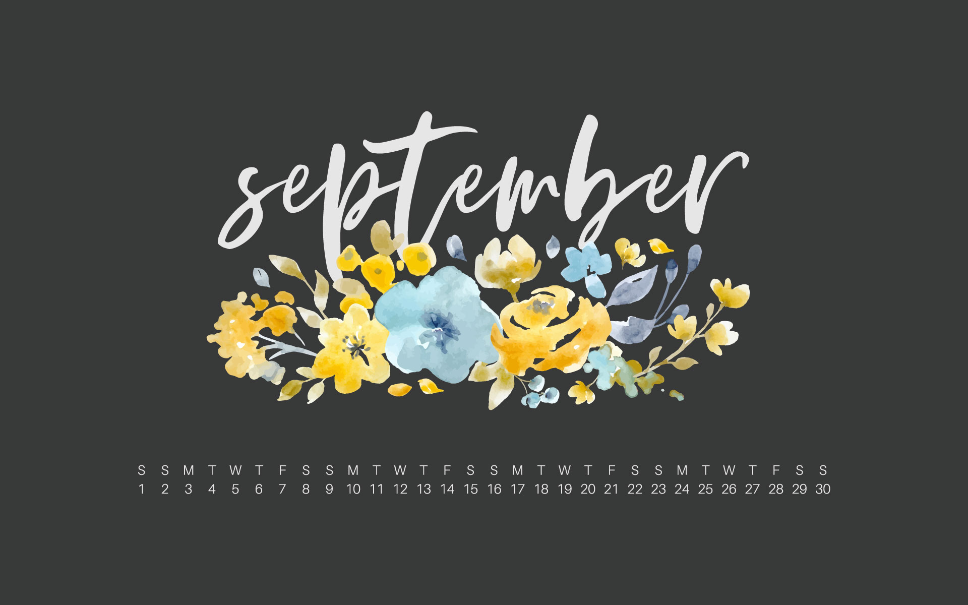 Uppercase Designs September 2018 Wallpaper