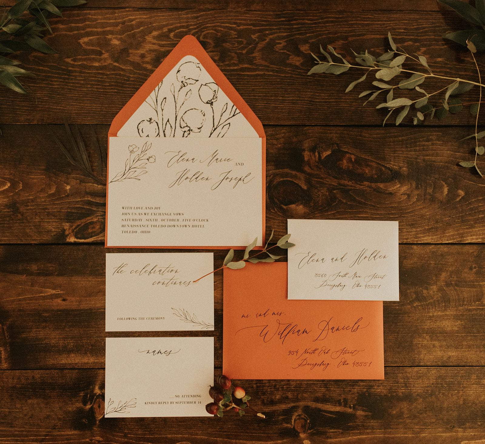 Wedding Invitation // Uppercase Designs