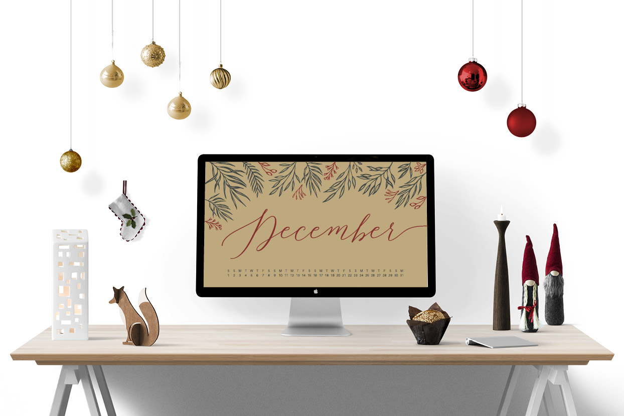 Uppercase Designs December 2018 Wallpaper