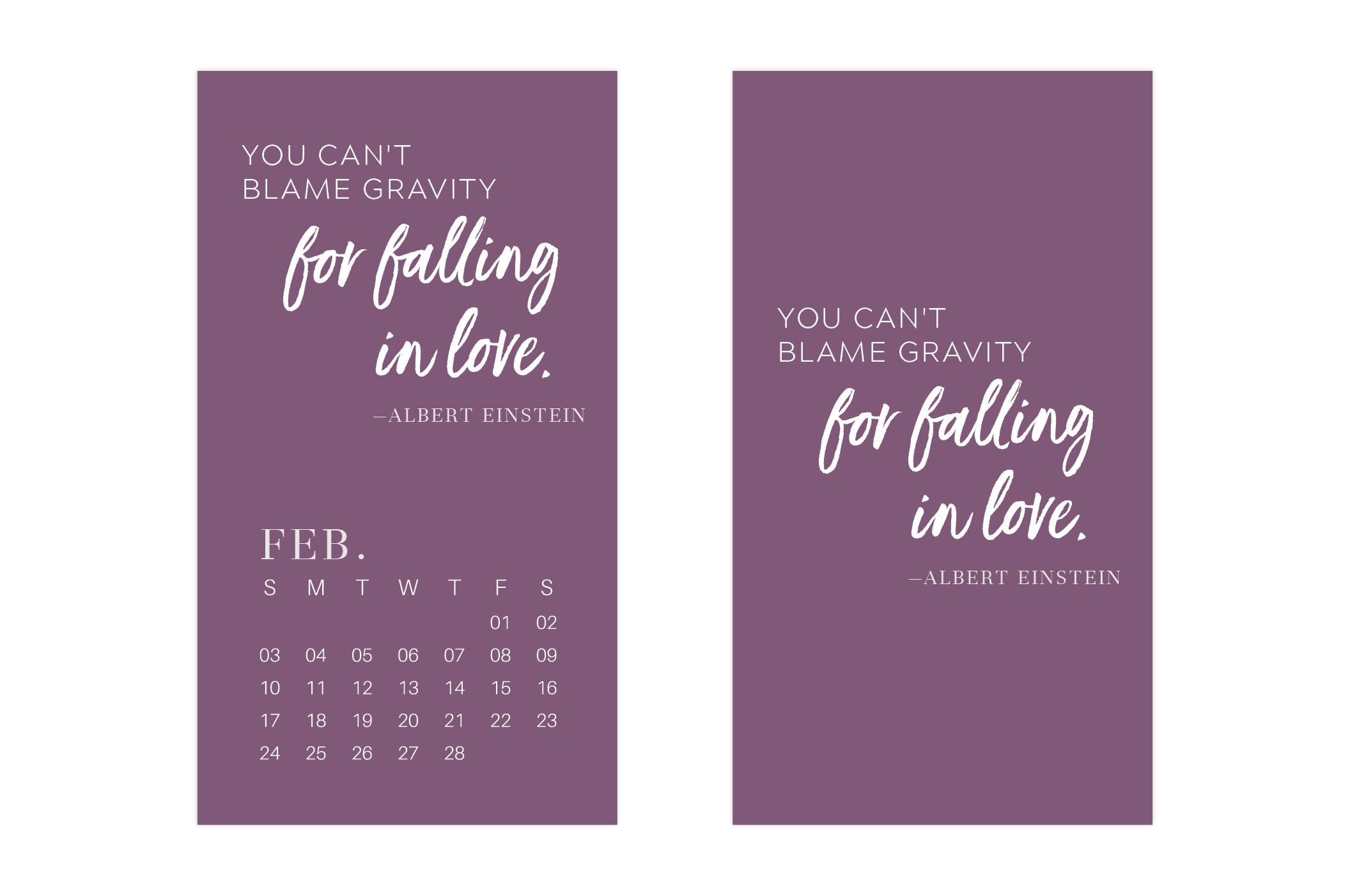 Uppercase Designs February 2019 Wallpaper Mobile