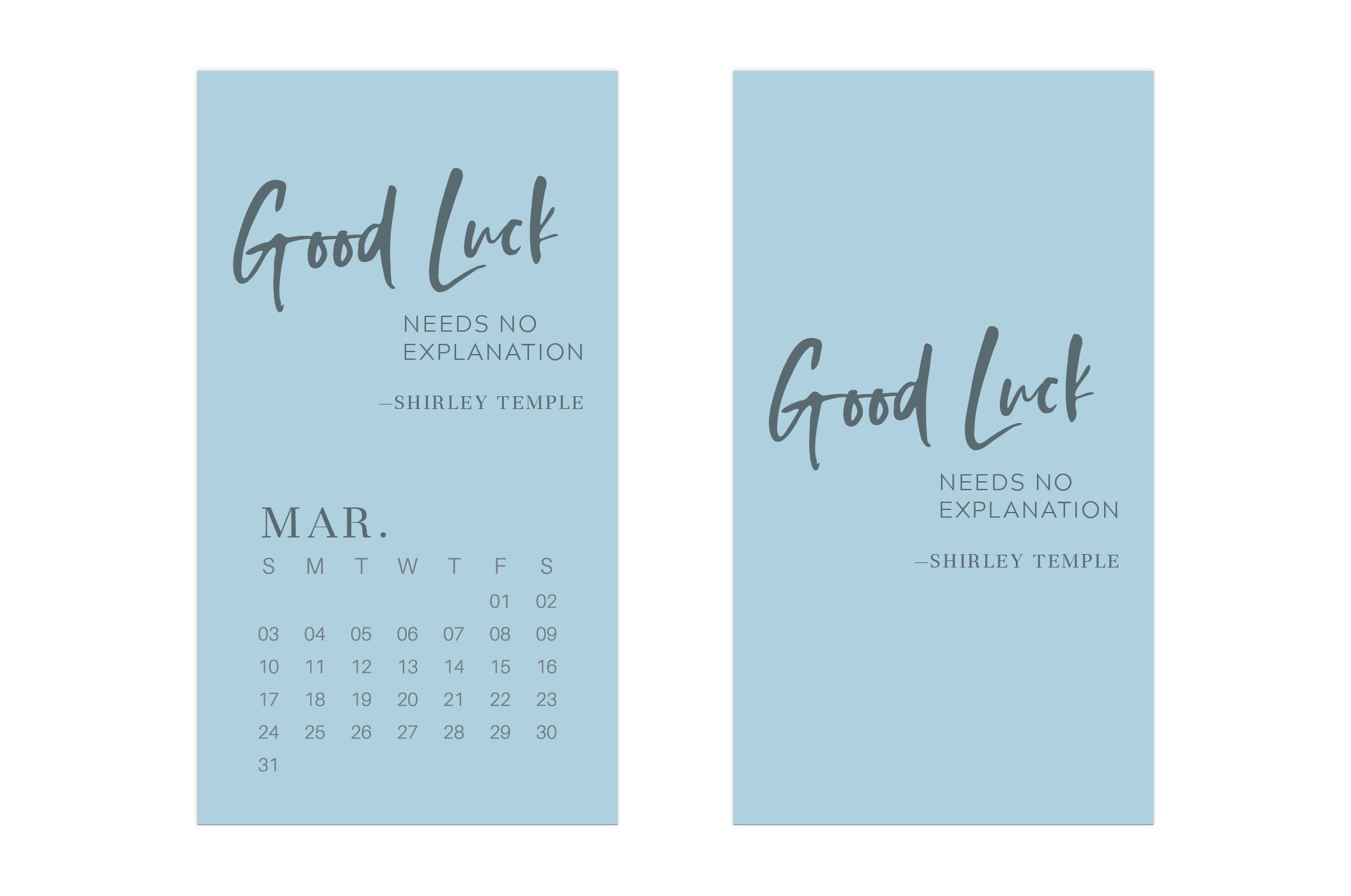 March 2019 Wallpaper Calendar Mobile // Uppercase Designs
