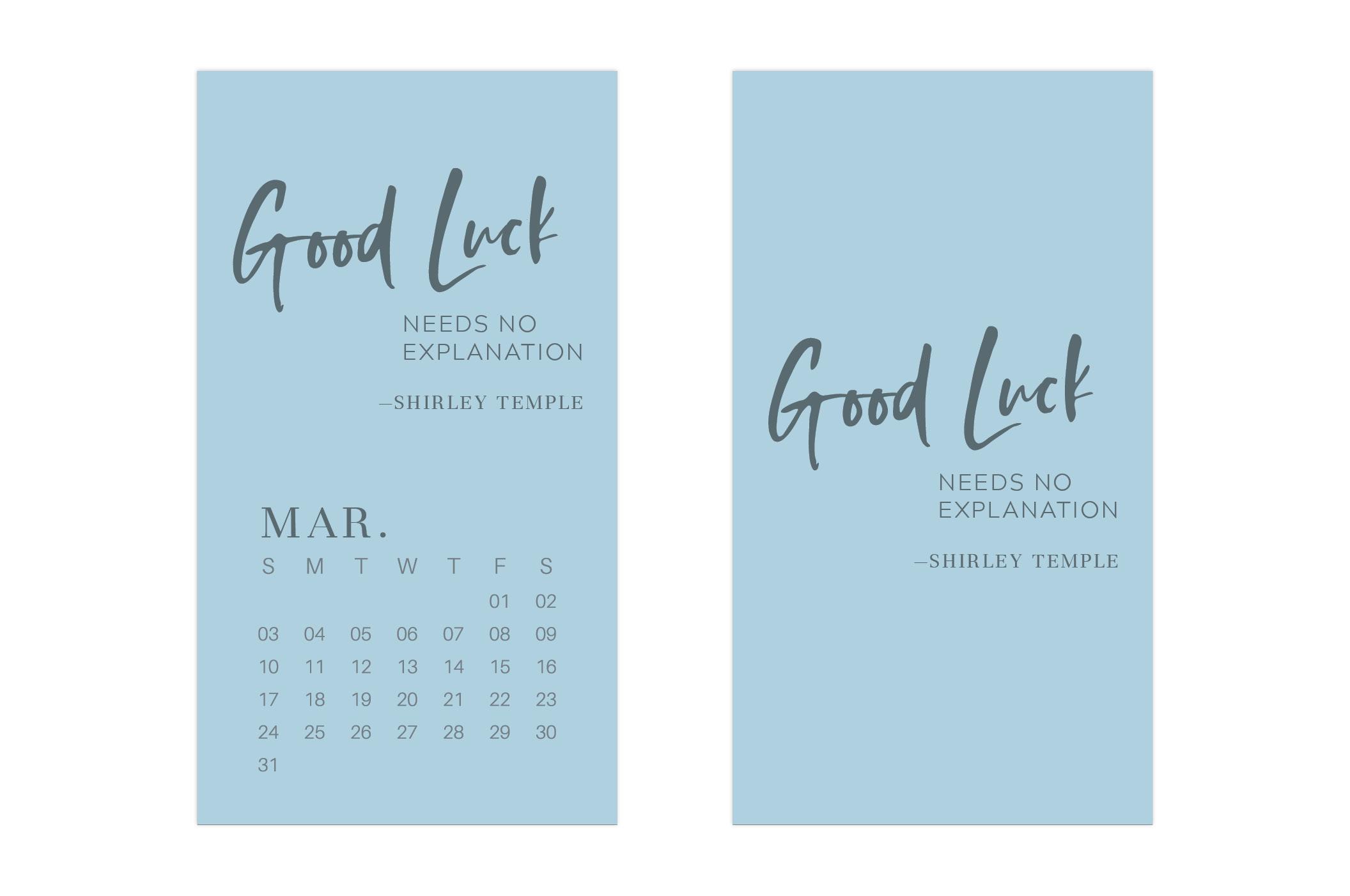 March 2019 Wallpaper Calendar Mobile // Uppercase Designs