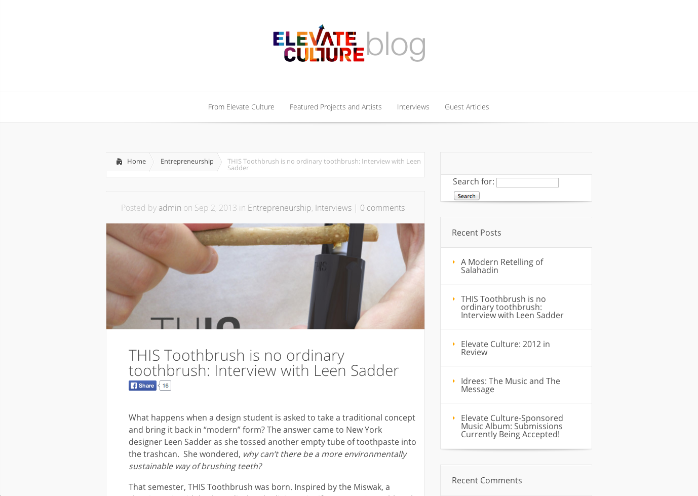 Elevate Culture Interview